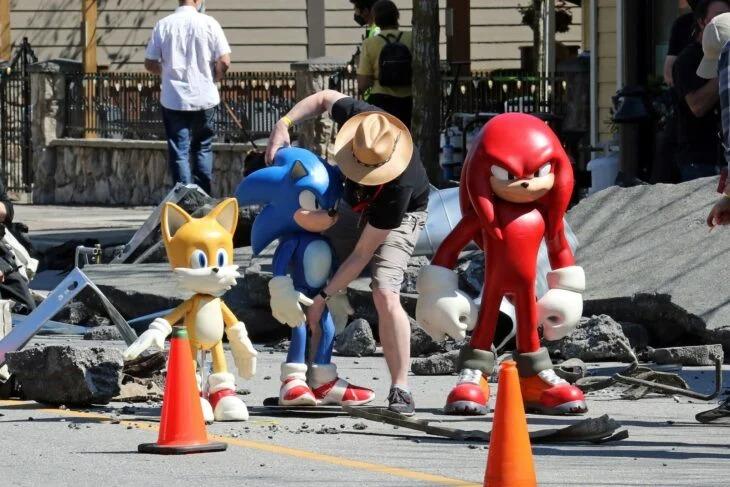 Ya están grabando 'Sonic 2' y se filtran las primeras imágenes de Knuckles