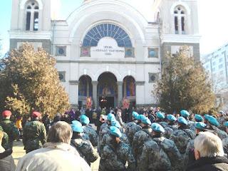 Saint Jordan Day, 6th January,,Chuich Service, Yambol, River Tundzha,
