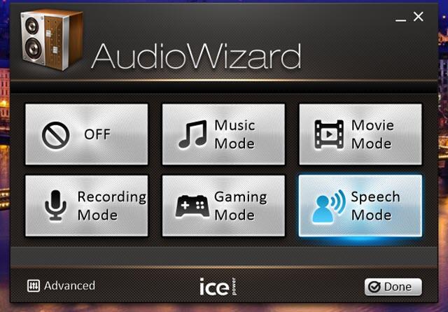 audio wizard di ICEpower