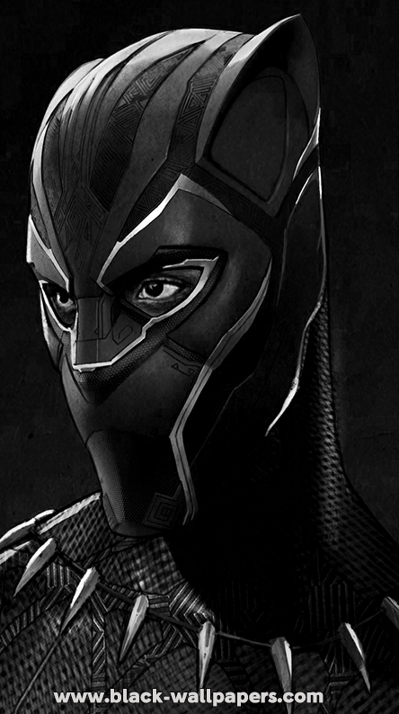 Black panther wallpaper 4k