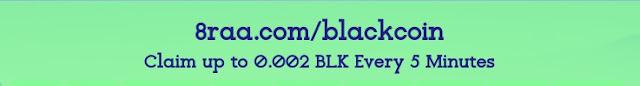 8raa Free Blackcoin Faucet