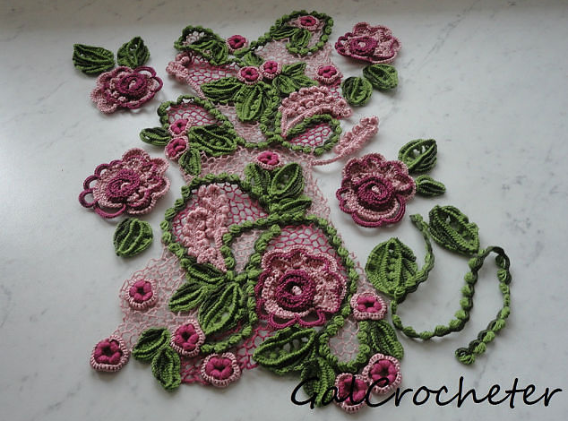 Tutorial Flores para Apliques de Crochet