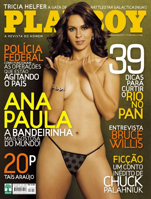 Ana Paula Oliveira nua