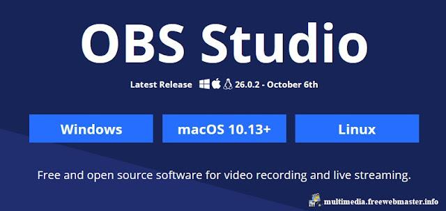 Программа для записи видео с экрана монитора и онлайн-трансляции OBS Studio