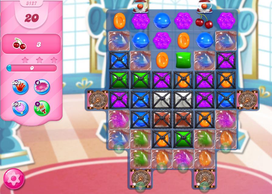 Candy Crush Saga level 3127