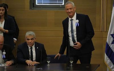 Lapid anuncia retirada de exigência 'em nome de um governo de unidade
