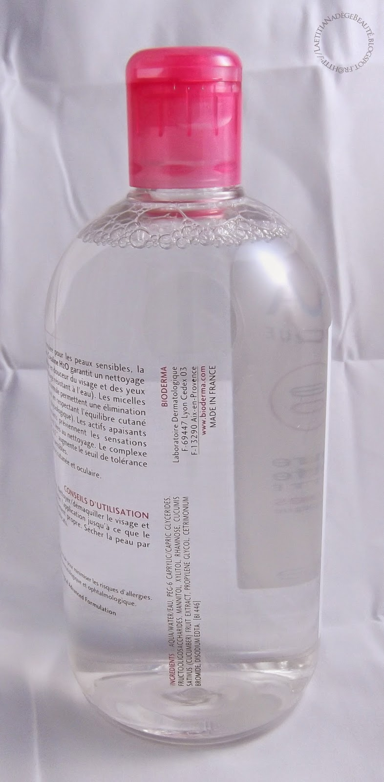 BIODERMA  Créaline H20 Solution Micellaire