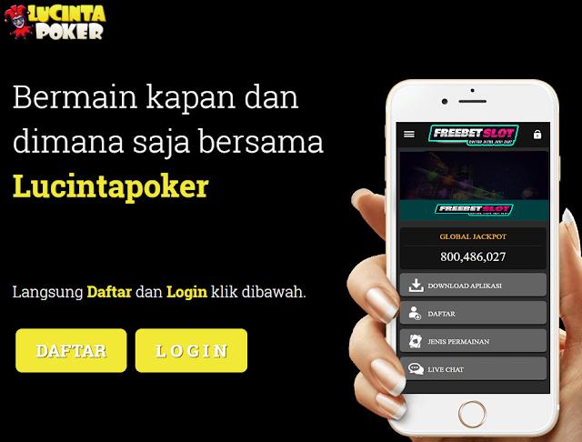 Lucintapoker Daftar Poker Online Terbaru