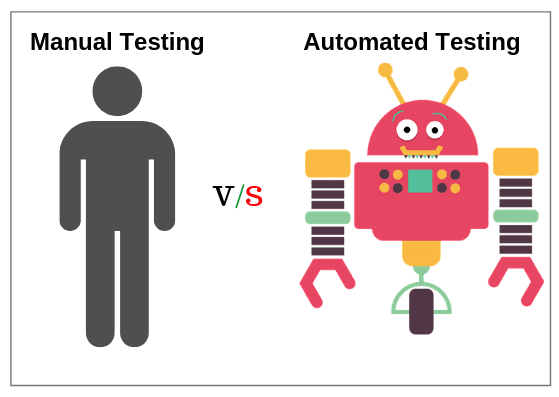 Difference between Automation Testing vs Manual Testing