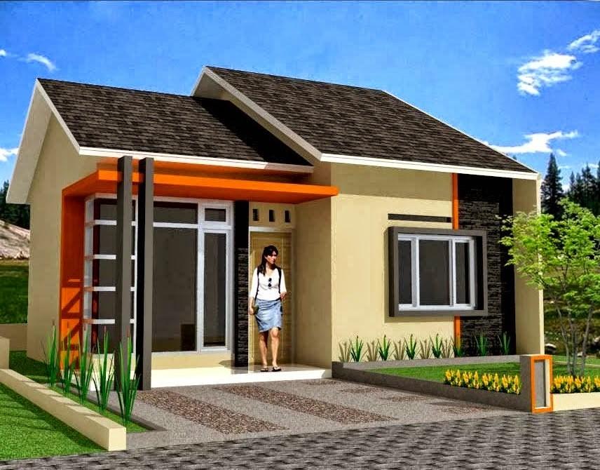 model rumah sederhana tapi kelihatan mewah 4