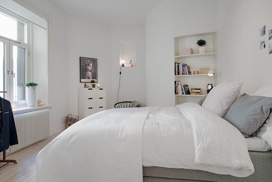 dormitorio estilo nórdico