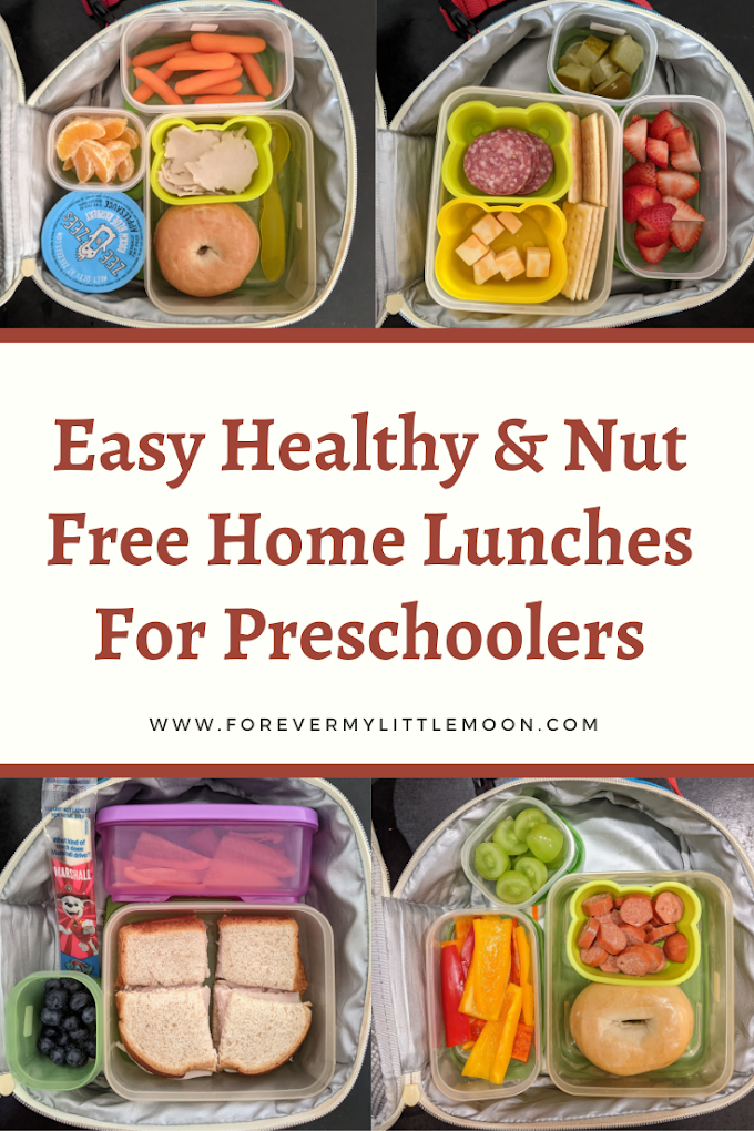 Easy Healthy & Nut Free Home Lunches For Preschoolers