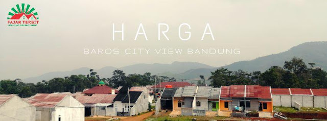 BAROS CITY VIEW BANDUNG,  RUMAH SYARIAH BANDUNG SELATAN