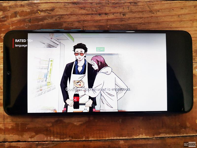 A massive 6.82 HD display