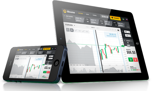 Мобильная торговая платформа Binomo