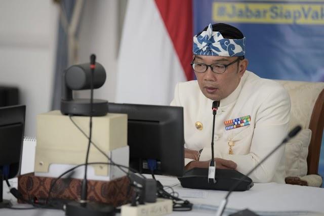 Pembukaan TA 2021-2022, Gubernur Jabar Jelaskan Pentingnya Pancasila Kepada Pelajar Jabar