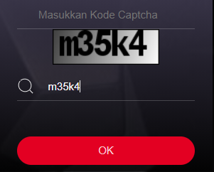 Masukkan Kode Captcha