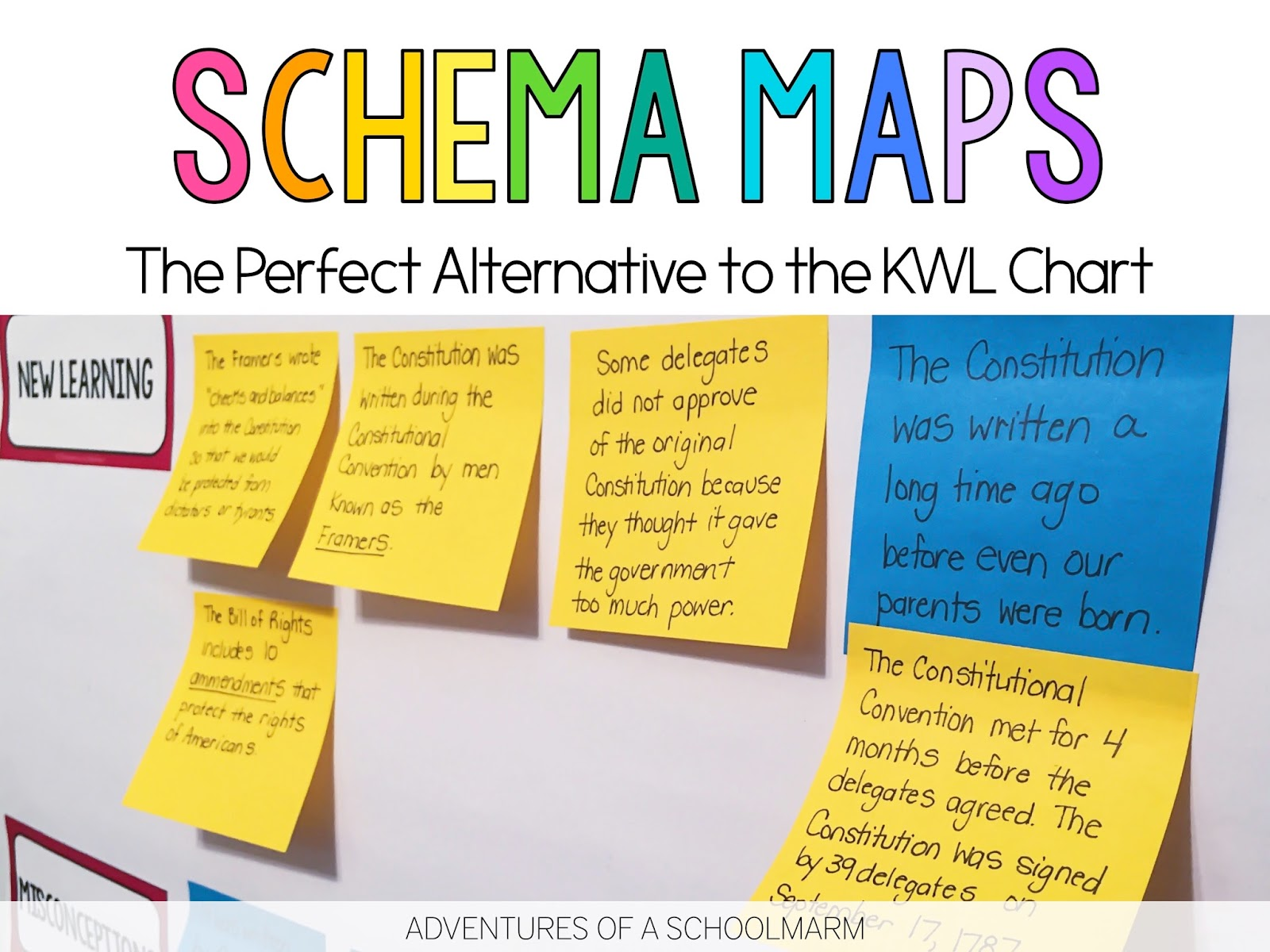 Schema Maps - An Alternative to the KWL Chart - Adventures of a ...