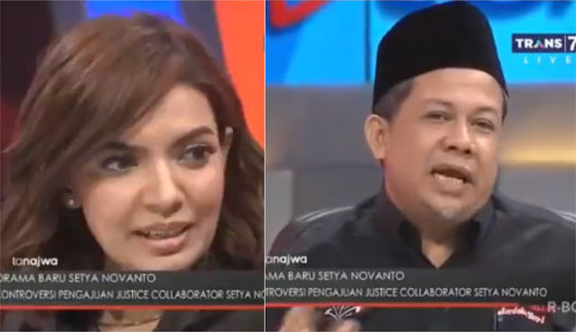 Berusaha Potong Penjelasan, Najwa Malah Dicuekin Fahri