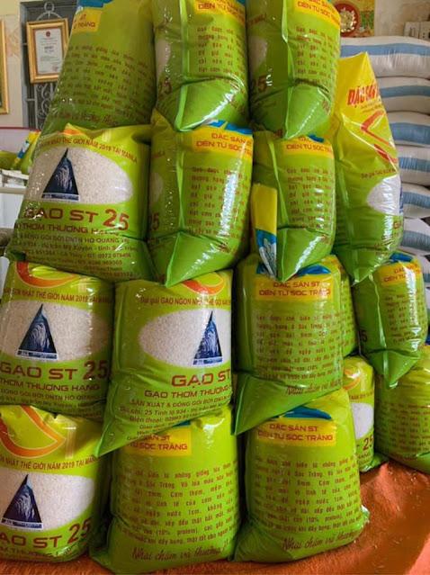 Mua gạo ST25 tại Đà Nẵng