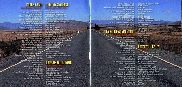 DRIVE SHE SAID - Dreams Will Come [The Best Of & More] booklet