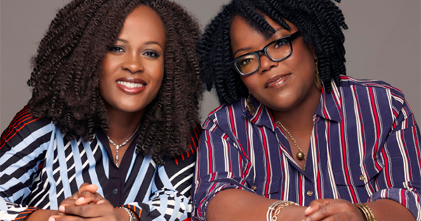 Chinelo Chidozie and Ndidi Obidoa, founders of Bolden skincare products