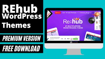 REHub Theme WordPress Free Download