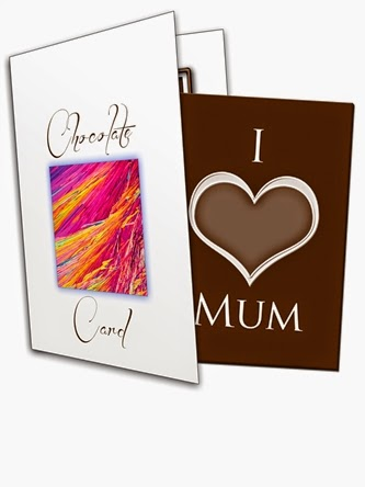 I 'Heart' Mum Chocolate Greetings Card