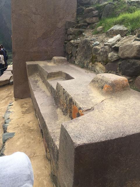 Templo del Sol Ollantaytambo Perú