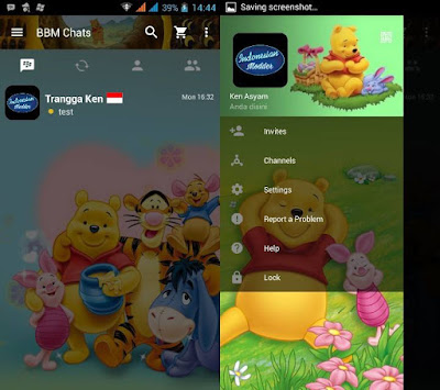 BBM MOD Winnie the Pooh
