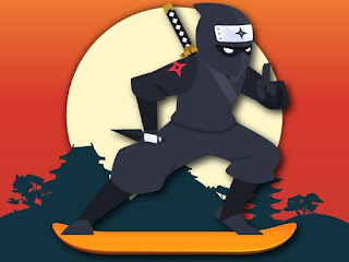 Jogue Lava and Ninja Skateboard Game HTML5