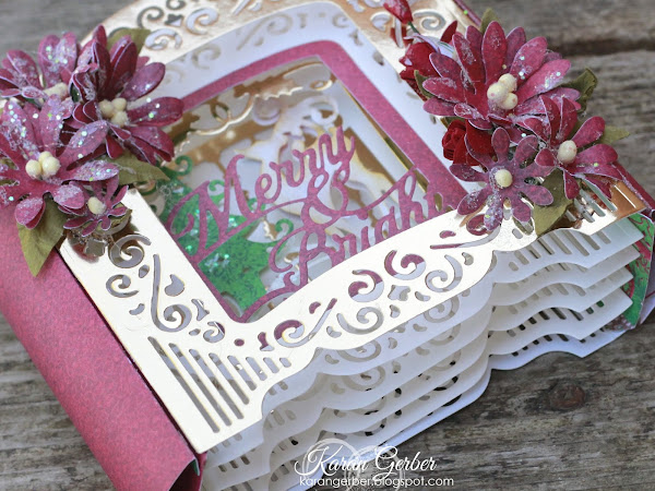 Introducing 3D Holiday Vignettes Blog Hop and Glimmer
