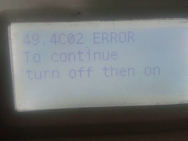 SOLVED: Laserjet P3015 Printer 49.4C02 error message - How-ifixit