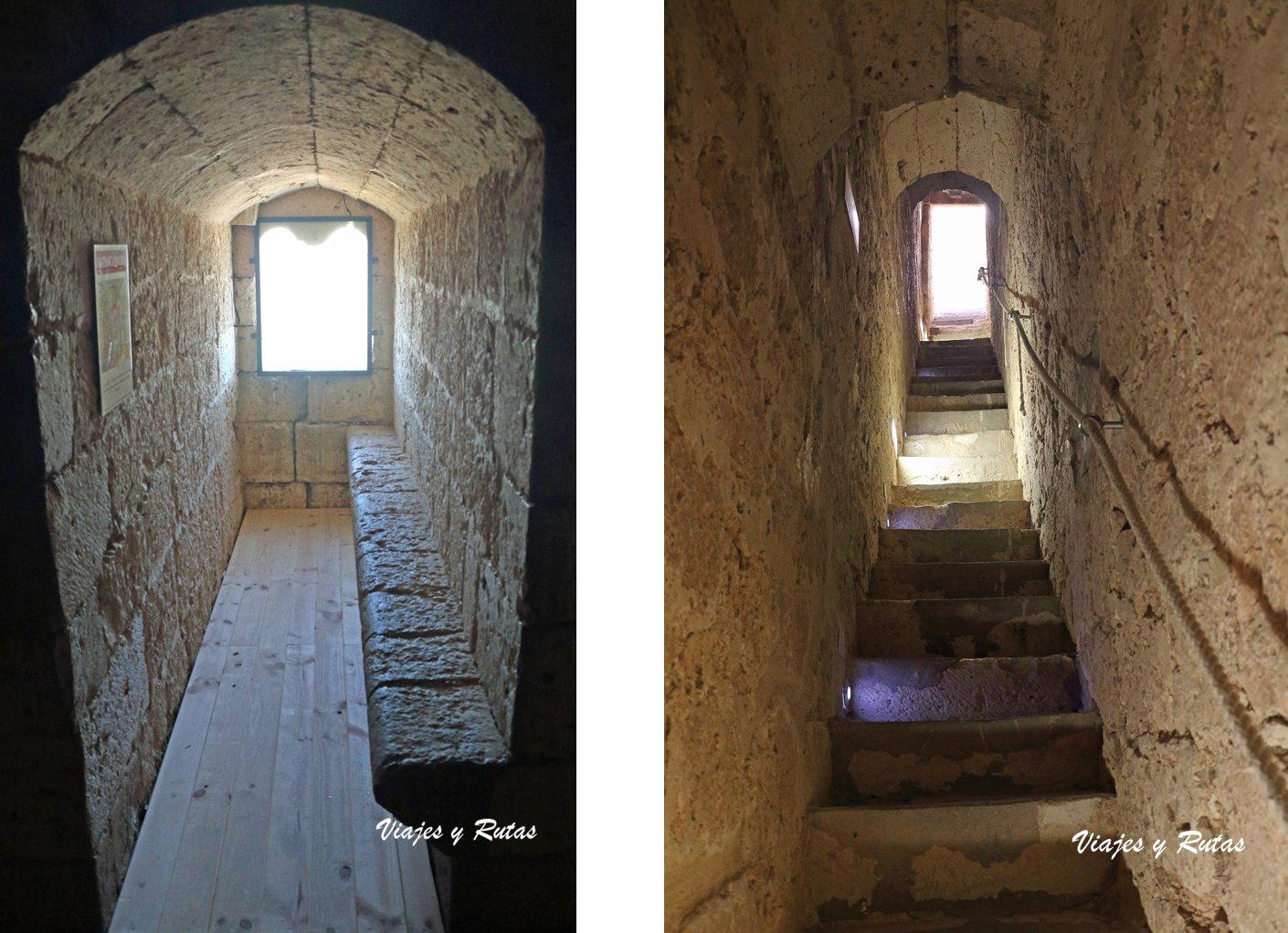 Interior del Castillo de Torrelobatón
