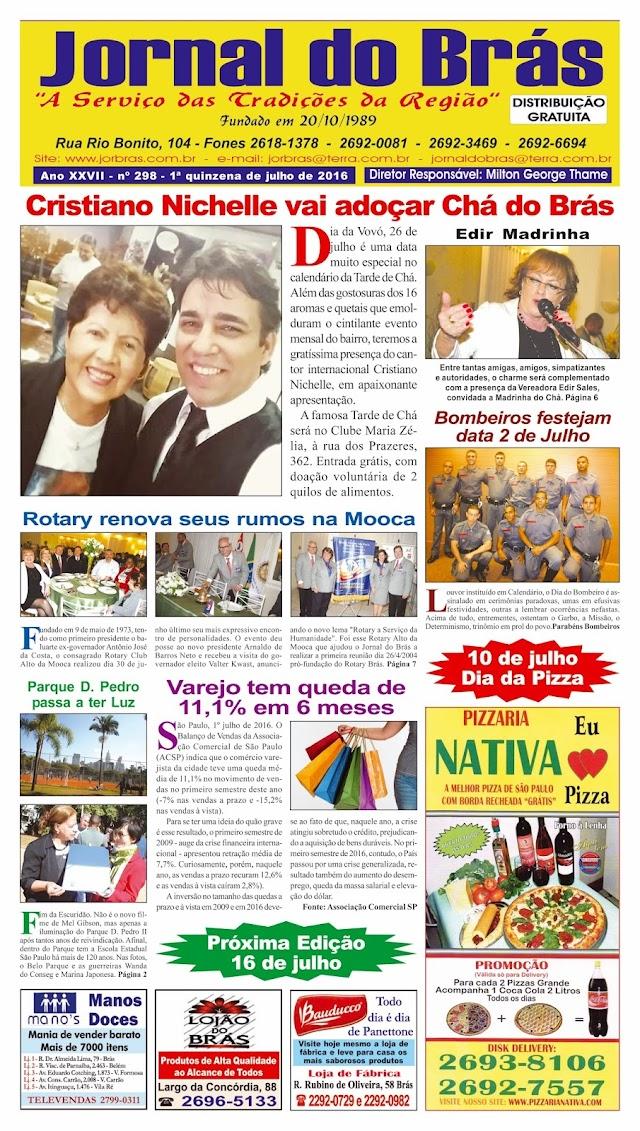 Destaques da Ed. 298 - Jornal do Brás