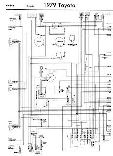 repairmanuals: Toyota Cressida 1979 Wiring Diagrams
