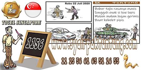 Prediksi Pak Tuntung Togel Singapura Rabu 22 Juli 2020