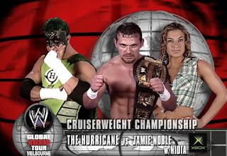 WWE Global Warning 2002: Hurricane vs. Jamie Noble