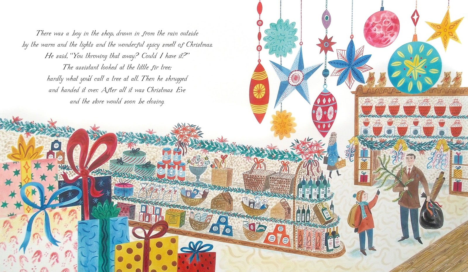 Picture Book Party: The Story Behind The Christmas Eve Tree
