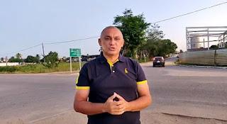 Wilson Nascimento comemora melhorias e os avanços na mobilidade urbana na cidade de Sopé