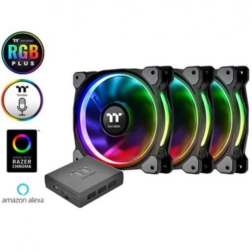 Fan Thermaltake Riing Plus 12 RGB (3 Fan)