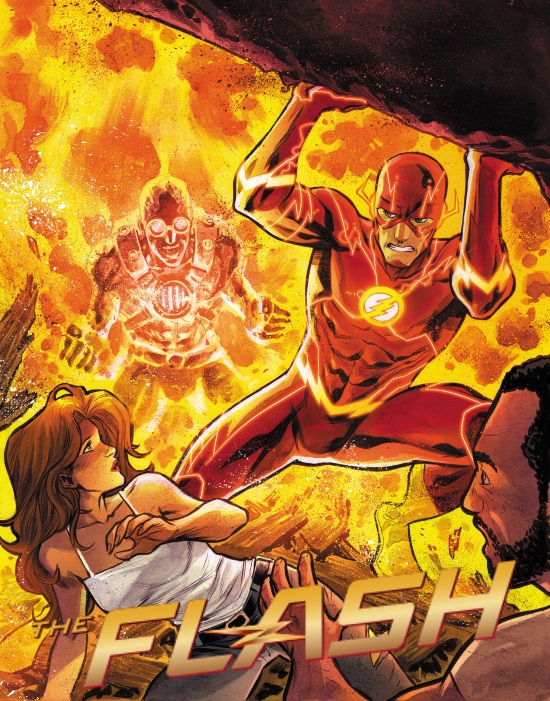 HEAT WAVE, NUEVO VILLANO DE THE FLASH. ARROW: IMAGENES DEL EPISODIO 3X01