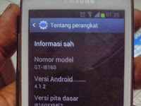 Cara Upgrade Samsung Galaxy Ace 2 ke Jelly Bean