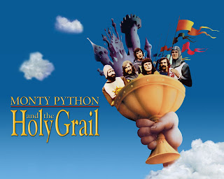 Monty Python and The Holy Grail (1975) de Terry Jones y Terry Gilliam