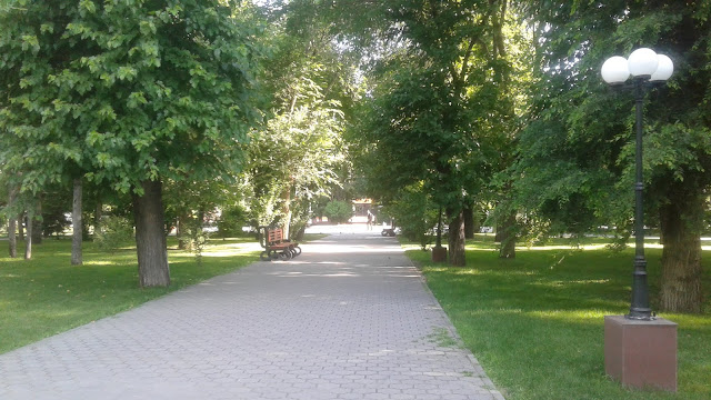 Братский сад Астрахань