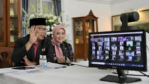 Baru Kali Ini, Open House Kang Emil Tanpa Salaman Dan Pelukan