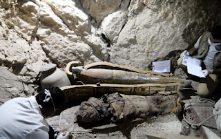 Egyptian Archaeologists Discover EIGHT MUMMIES In 3,500-Year-Old Tomb Near Ancient City Of Luxor
