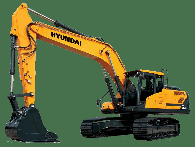 Hyundai Excavators HX260L
