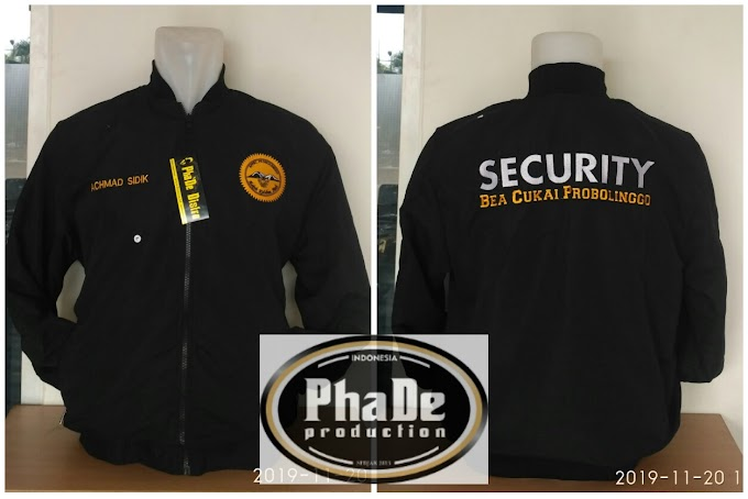 JAKET BOMBER SECURITY BEACUKAI PROBOLINGGO (2019)