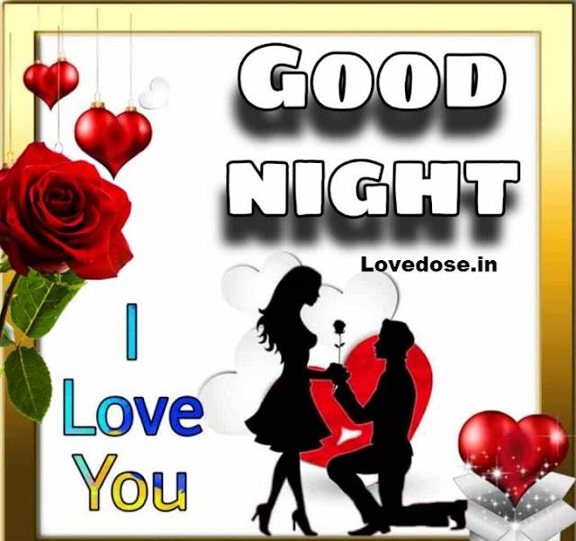 Good night darling i love you
